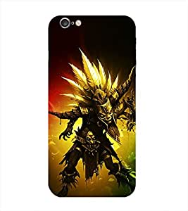 Warrior Printed Back Cover for Iphone 6