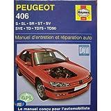 Peugeot, n° 406 : Manuel d'entretien et réparation auto - S, SL, SR, ST, SV, SVE, TD, TD75, TD90