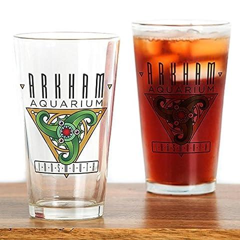 CafePress–Arkham Aquarium (Innsmouth)–Pint-Glas, 16oz Trinkglas