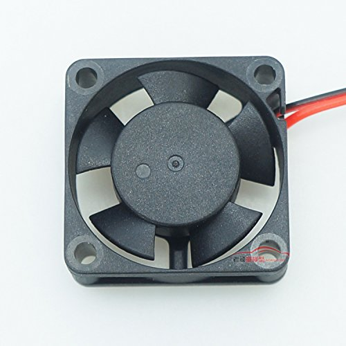 Junsi 5-7V NMB Dual Ball Bearing Cooling Fan 3010/4010 14500RPM for RC Car Motor ESC Ball Bearing Fan Motor