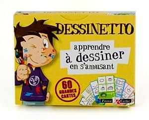 France Cartes - 410021 - Loisirs Créatifs - Cartes - 7 Familles - Dessinetto