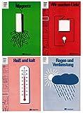 Grundschulpaket Reihe II Physik: Heft1 Magnete, Heft 3 Wir machen Licht, Heft 5 Regen und Verdunstung, Heft 8 Heiß und kalt