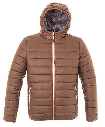 giacca-imbottita-giubbino-nylon-morbido-lucido-con-cappucico-james-ross-colonia-colore-marrone-tagli