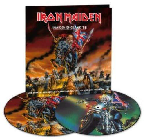 Maiden England '88(Picture Disc) [Vinyl LP] (Iron Maiden Picture Disc Vinyl)