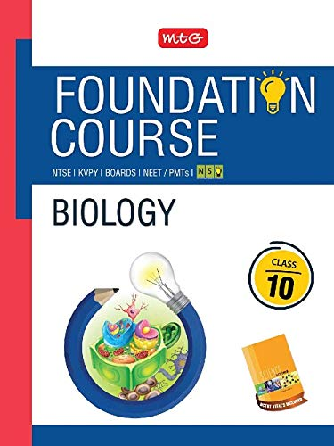 Biology Foundation Course for NEET/Olympiad/NTSE : Class 10