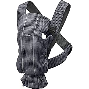 BABYBJÖRN Baby Carrier Mini, 3D Mesh, Anthracite   10