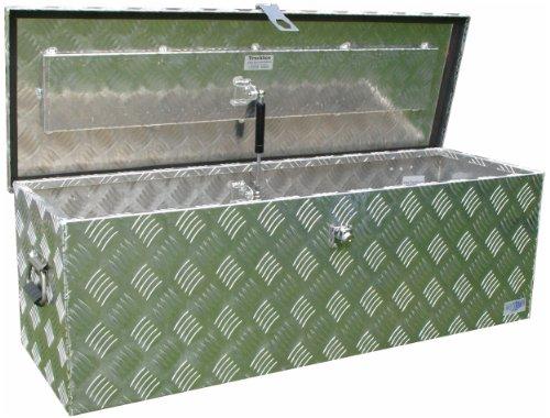 Preisvergleich Produktbild Truckbox D100 Werkzeugkasten, Deichselbox, Transportbox, Alubox, Alukoffer