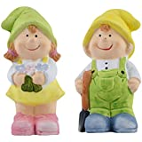 Curtis Toys Ceramic Girl & Boy Figures Set Of 2, Handmade Show Pieces, Decorative Items For Home, Best Couple Gifts, Statues For Decoration, Ceramic Doll Gifts