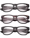 Schoenleben 3x Herren Damen Lesebrillen Sehstärke Sehhilfe Augenoptik Brillen Augen