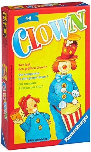 Ravensburger 23115 - Clown - Kinderspiel/ Reisespiel