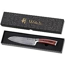 Wakoli - Cuchillo japonés (acero de Damasco)