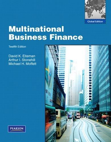 Multinational Business Finance: Global Edition por David K. Eiteman
