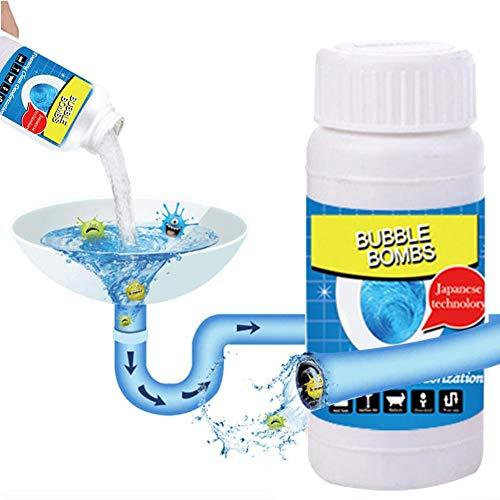 ningxiao586 WC-Beckenreiniger Boom Wash WC-Blase, für Starke Reinigung/Ausbaggerung/Desodorierung, Sauerstoff-Aktivschaum-Tiefen-Selbstreiniger für Toiletten, Bidets und Urinale, 2 Flaschen - Tiefe Reinigung