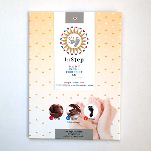 "MAGICAL BABY PRINT KIT (no paint, no plaster) from ""Baby's 1st Step"""