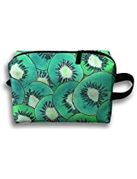 Kiwi Fruit Slice Fashion Large Storage Bag Portable Home Makeup Bag Travel  Bag Cosmetic Bags 67957169e4f