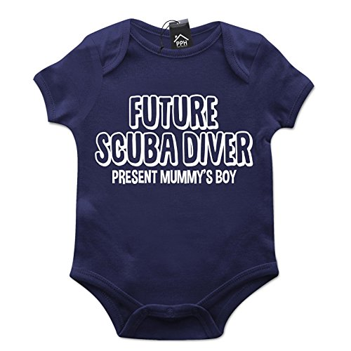 Future Scuba Diver Baby Grow B14