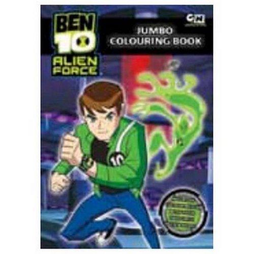 Imagen principal de Ben 10 Jumbo Colouring Book