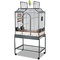 Montana Cages | Die Geschenk - Idee: Madeira II - in Antik für Sittiche, der ideale Vogelkäfig, Voliere, Sittichkäfig, Käfig