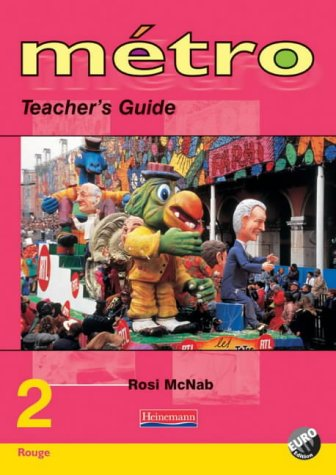 Metro 2 Rouge Teacher's Guide Euro Edition (Metro for 11-14)