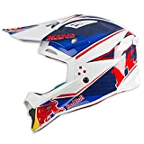 Kini Red Bull Helm Competition Weiß Gr. L
