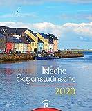 Irische Segenswünsche 2020: Postkartenkalender zum Aufstellen -