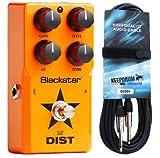 Black Star LT de District de pédale d'effet pour Guitare électrique keepdrum Câble de Guitare 6m Gratuit.