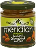 Meridian Organic Smooth Almond Butter 170 g (Pack of 3)