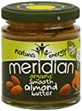 Meridian Organic Smooth Almond Butter 100% [170g] (Pack of 3)