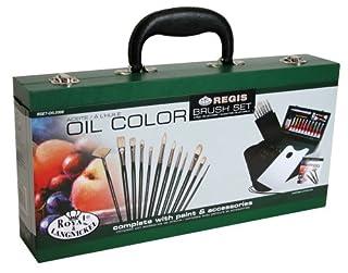 Royal & Langnickel RSET-OIL2000 - Set caja de madera de brochas para pintura al óleo (B000K1RW2I) | Amazon Products