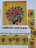 Choose any card to Complete your Lego Create the World Cards for Sainsbury's collectors album