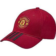 adidas MUFC 3S Cap - Gorra 3ª equipación Manchester United FC e566950c93d