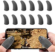 Newseego Mobile Game Controller Finger Sleeve Sets [6 Pack], Anti-Sweat Breathable Full Touch Screen Sensitive