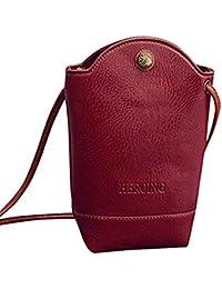 8043474411c9 LILICAT Women Messenger Mini Bags Slim Crossbody Shoulder Bags Handbag Small  Body Bags Cellphone Pouch