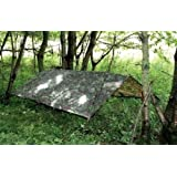 HHH Hunting® Large Military Basha Army tarp camo bivi tent Fishing camping Hunting Shelter 2.5m