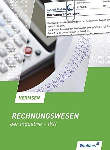 Rechnungswesen der Industrie - IKR: Schülerband