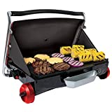 George Foreman GP200R Camp and Tailgate Grill, Red by George Foreman