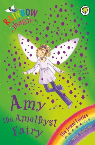 Rainbow Magic: Amy the Amethyst Fairy Cover Image