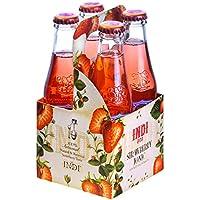 Indi Tónica, Sabor Fresa - Paquete de 4 x 200 ml - Total: 800 ml