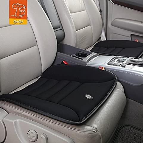 Coccyx Care Memory Foam Seat Cushion for Car Office Home Use (Black)