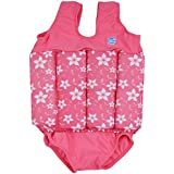 Splash About Collections Float Suit - Adjustable Buoyancy, 1-6 years (Pink Blossom, 4-6 years (Chest: 61cm | Length: 43cm))