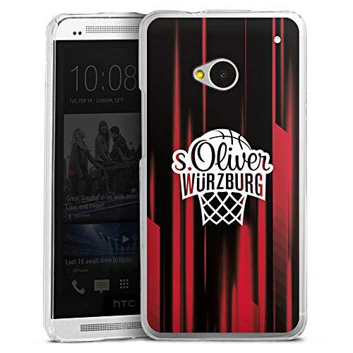 DeinDesign Hülle kompatibel mit HTC One M7 Handyhülle Case s. Oliver Würzburg Basketball Merchandise Fanartikel