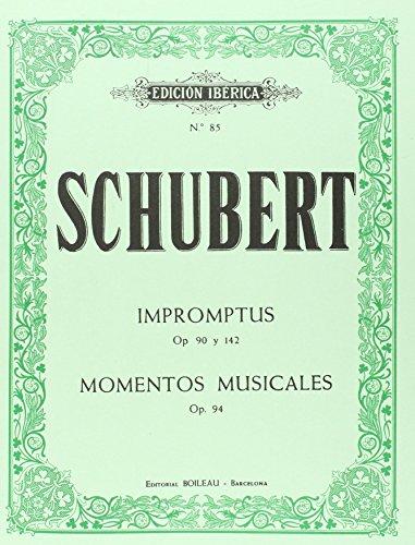 Impromptus Op.90 y Op.142/Momentos Musicales Op.
