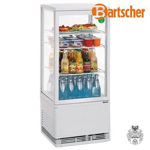 Bartscher Mini Kühlvitrine 78L weiß 84185019 Art. 700178G