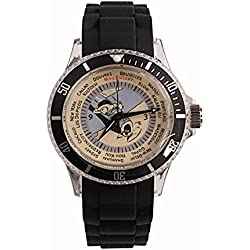 Watch with silicone strap Tintin travel 82412 (2012)