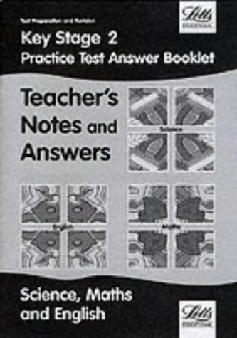 Key Stage 2: Practice Test Answer Booklet (All Subjects) (Key Stage 2 revision)