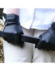 Tuffa Equi-Grip Gants d'équitation en cuir de chèvre