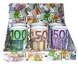 Spardose mit Zählwerk - Höhe ca. 12,5 cm - 6 verschiedene Motive! Je Bestellung 1 Stück! 5 EUR/10 EUR/20 EUR/50 EUR/100 EUR/500 EUR - Bitte Wunschmotiv per Nachricht mitteilen!
