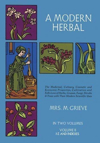 A Modern Herbal, Vol. II by Margaret Grieve (Jun 1 1971)