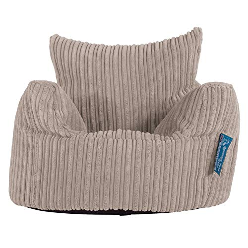 Lounge Pug®, Kindersessel Sitzsack, Sitzsack Kinder, Cord Nerzfarben