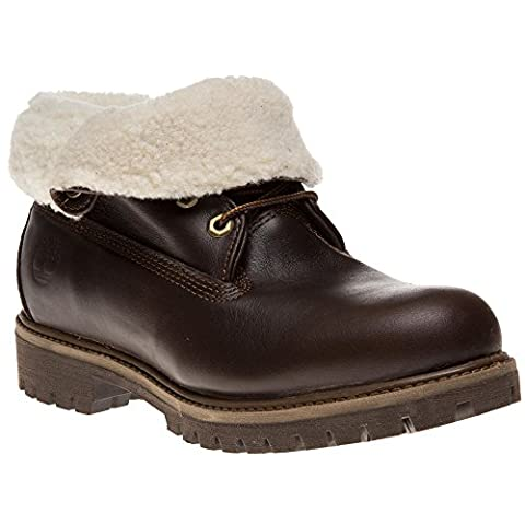 Timberland Icon Roll Top Boots Brown 7.5 UK
